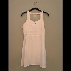 Women's Nike white tennis dress, size M